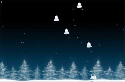 Screenshot of Winterbells game