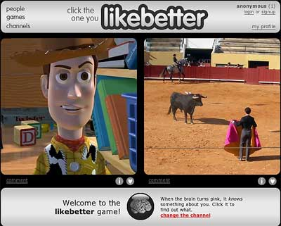 screenshot of likebetter.com