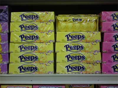 Peeps at Stater Brothers